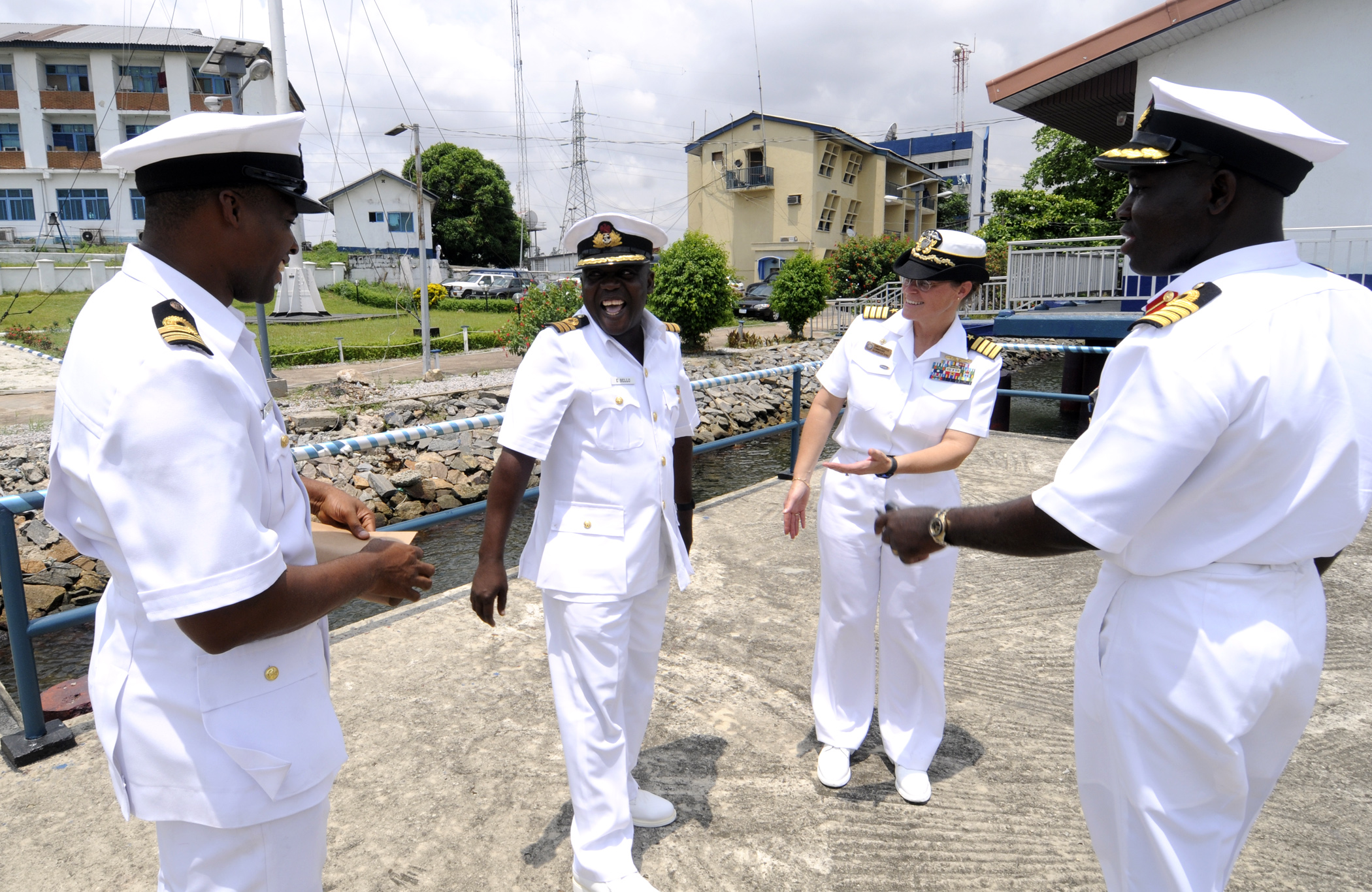 Salaries of the Nigerian Navy