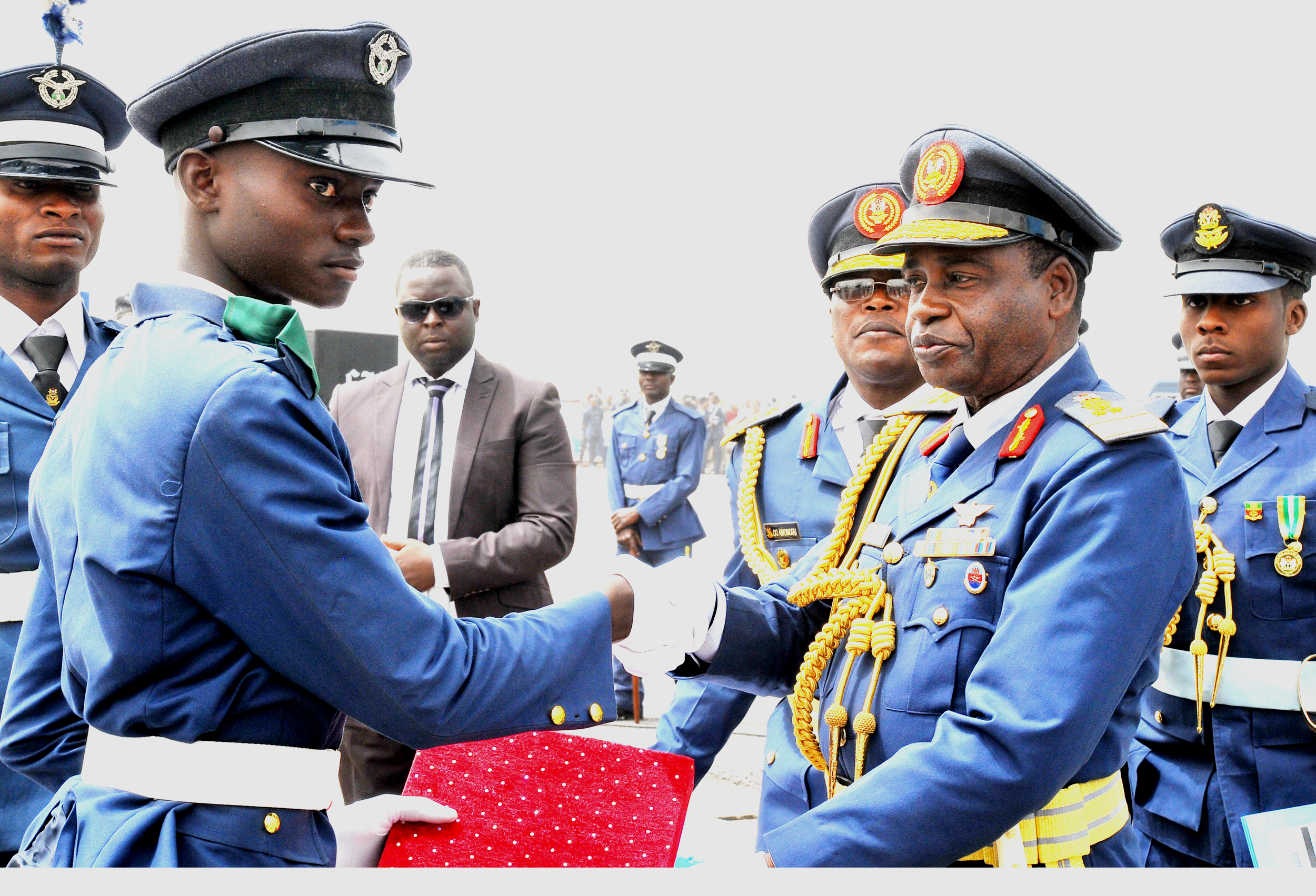 Salaries of the Nigerian Airforce