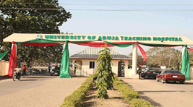 Staffs of UniAbuja Hospital Protest over Non-payment of Salary