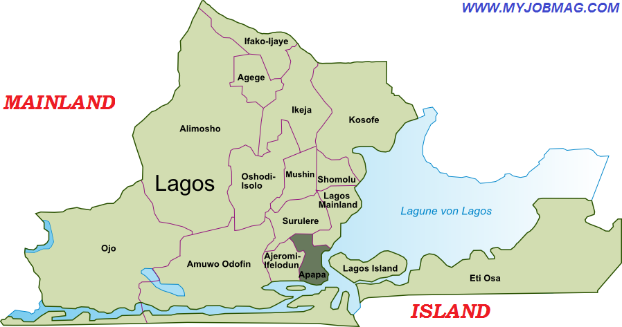 Lagos Island and Mainland