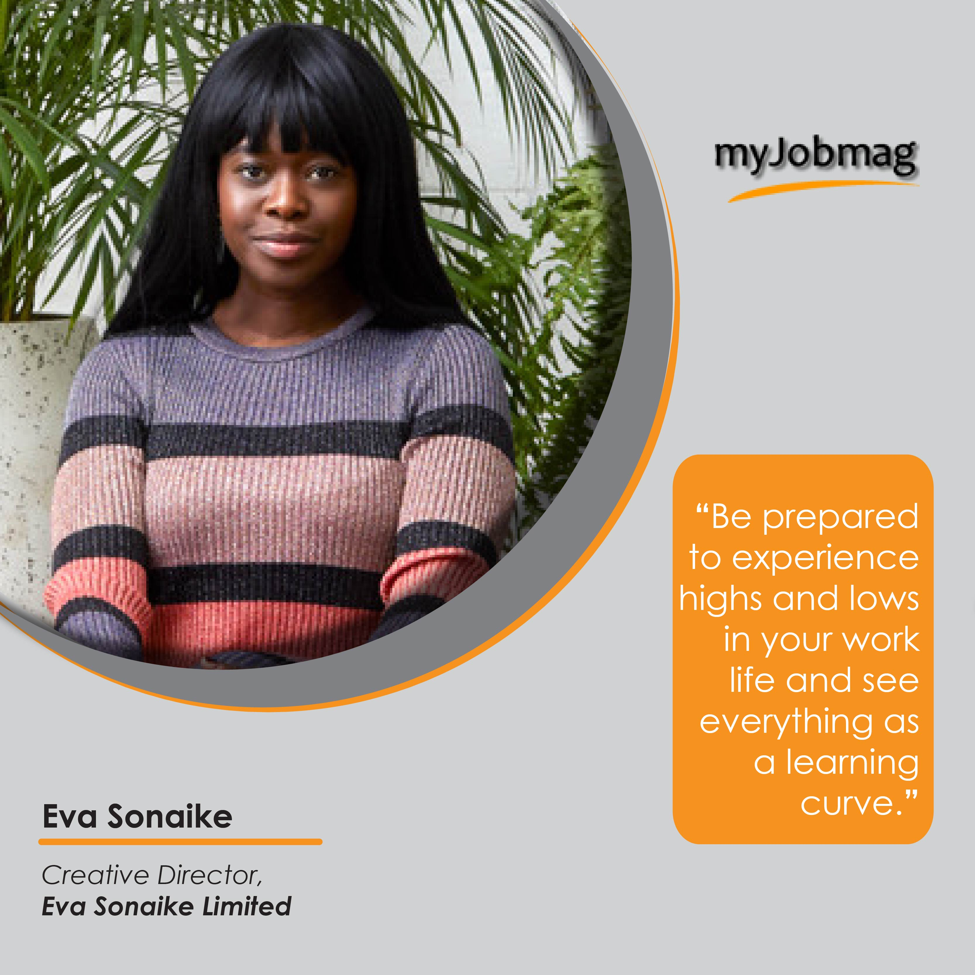 Eva Sonaike career advice MyJobMag