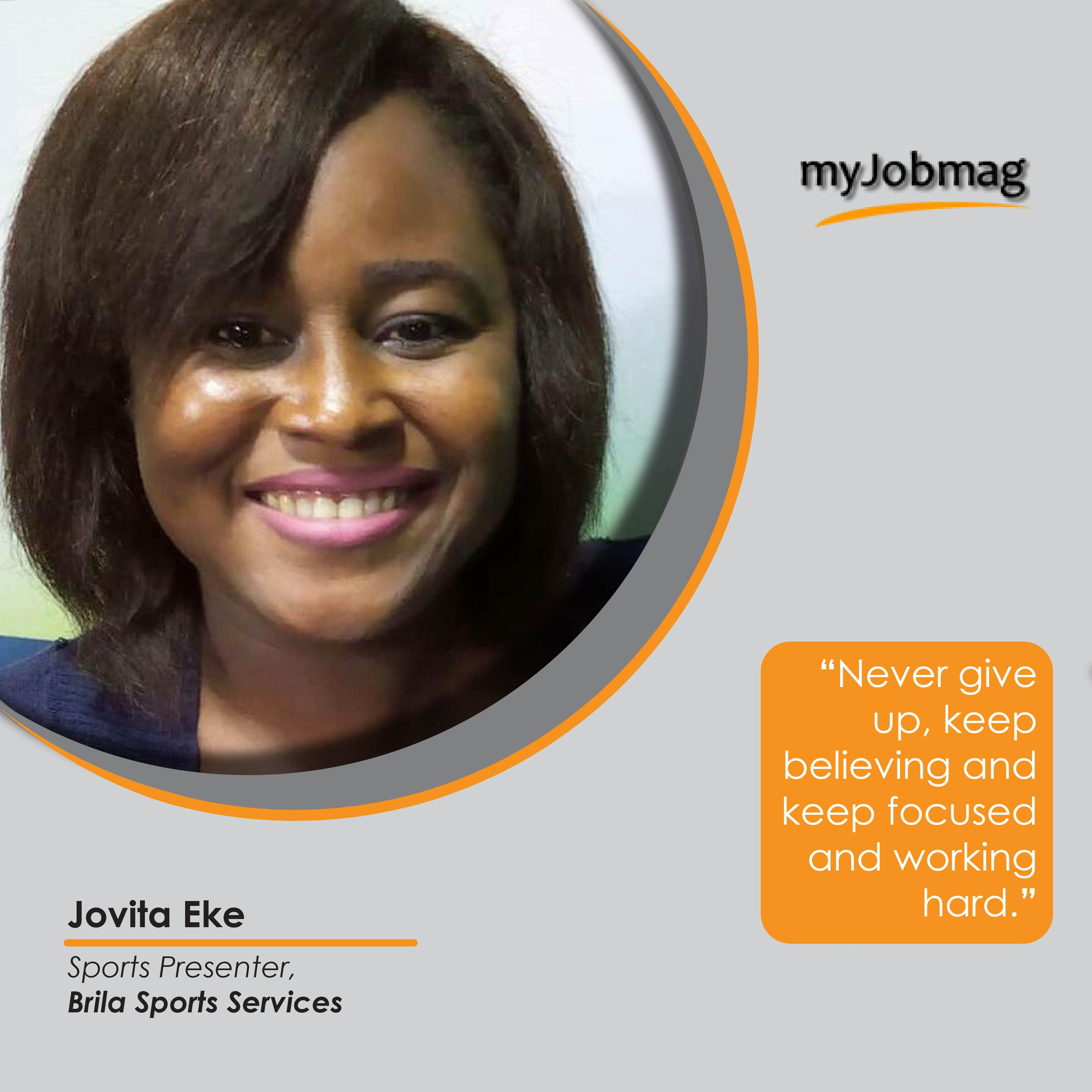 Jovita Eke career advice MyJobMag