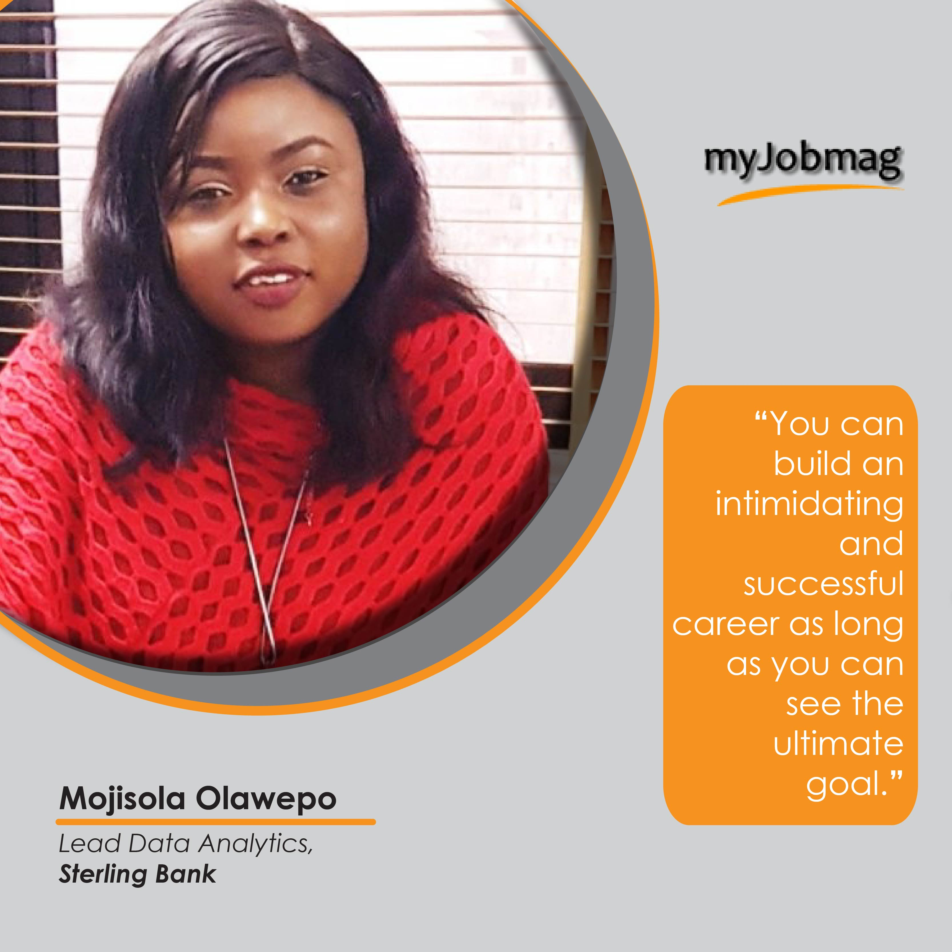 Mojisola Olawepo career advice MyJobmag