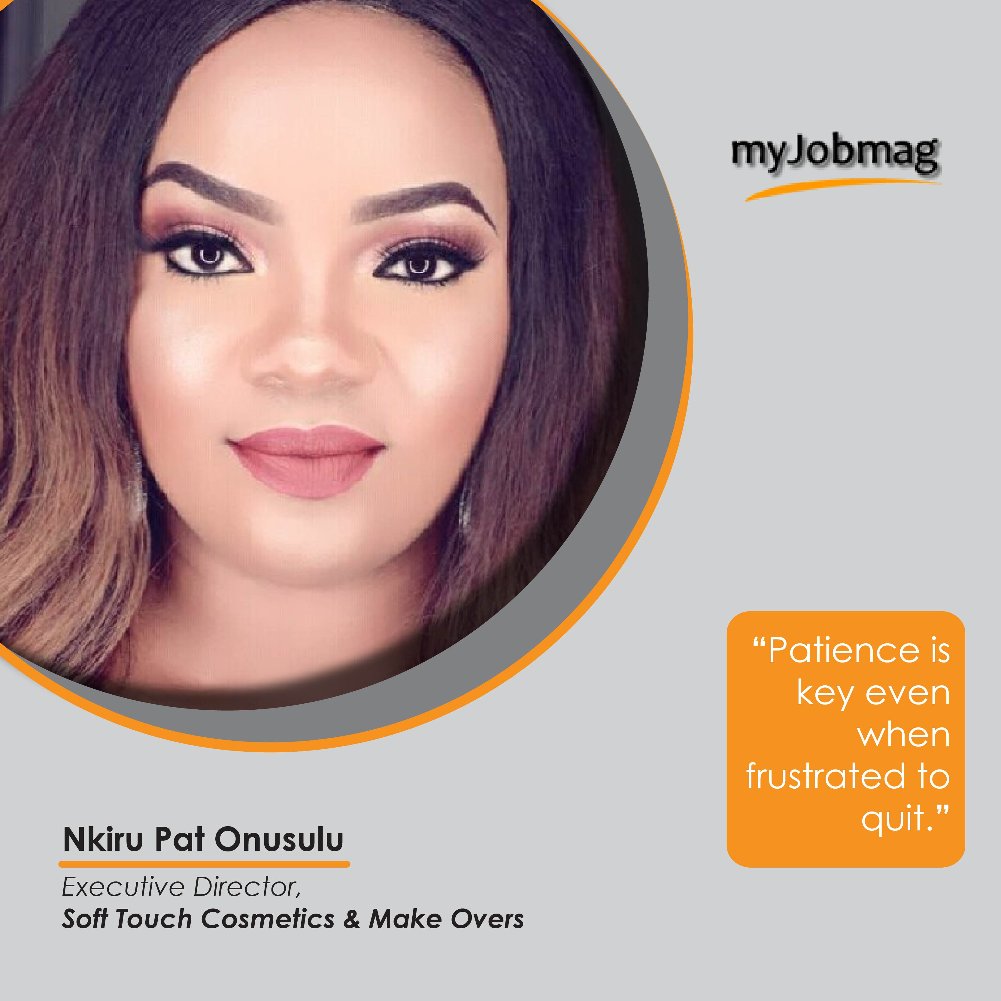 Nkiru Pat Onusulu career advice MyJobMag