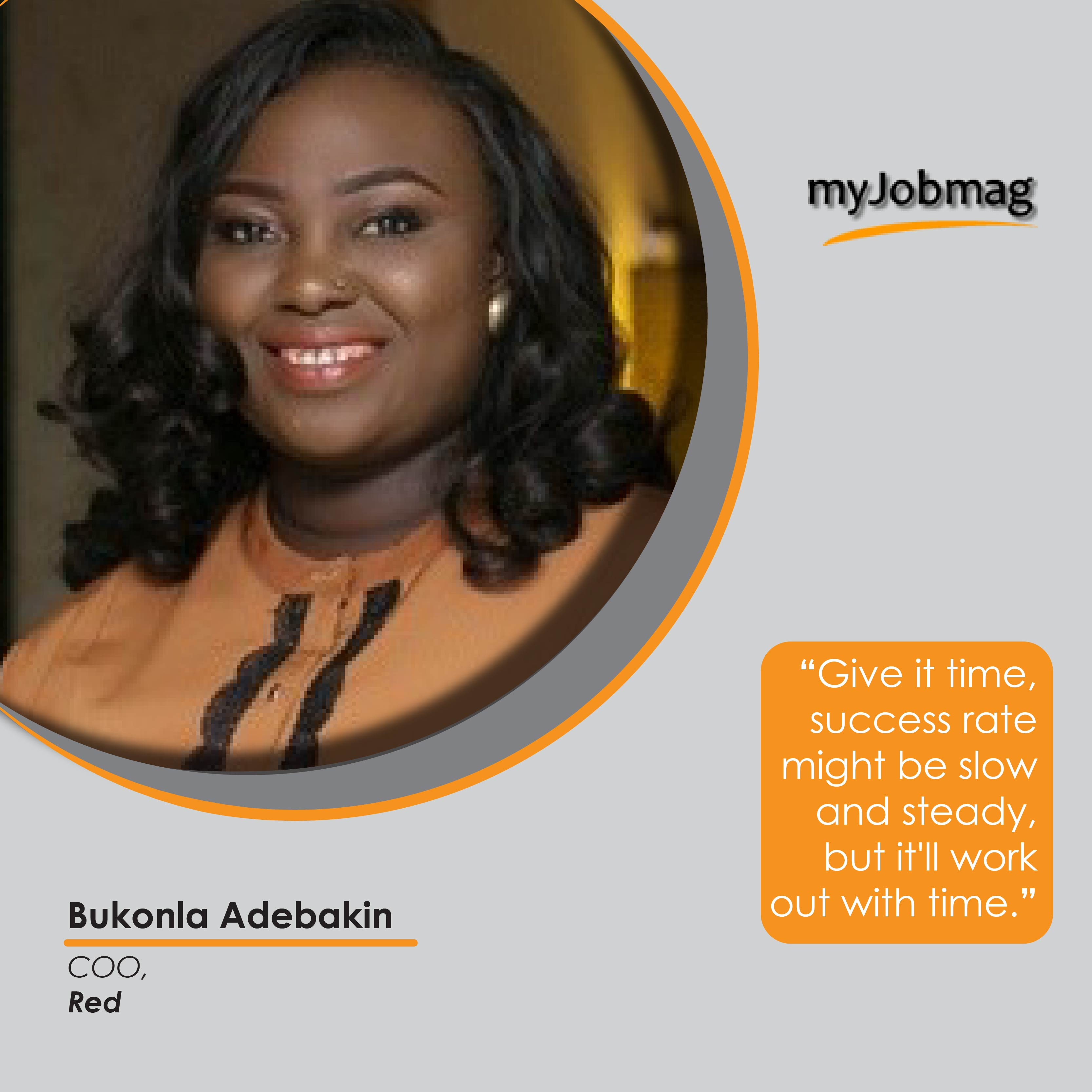 Bukonla Adebakin career advice MyJobMag