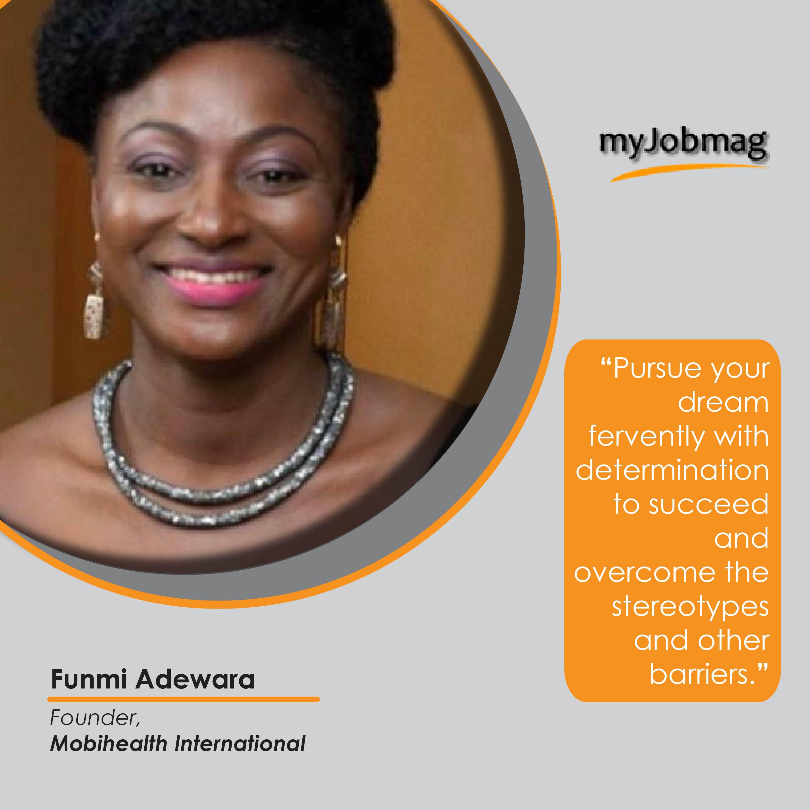 Funmi Adewara career advice MyJobMag