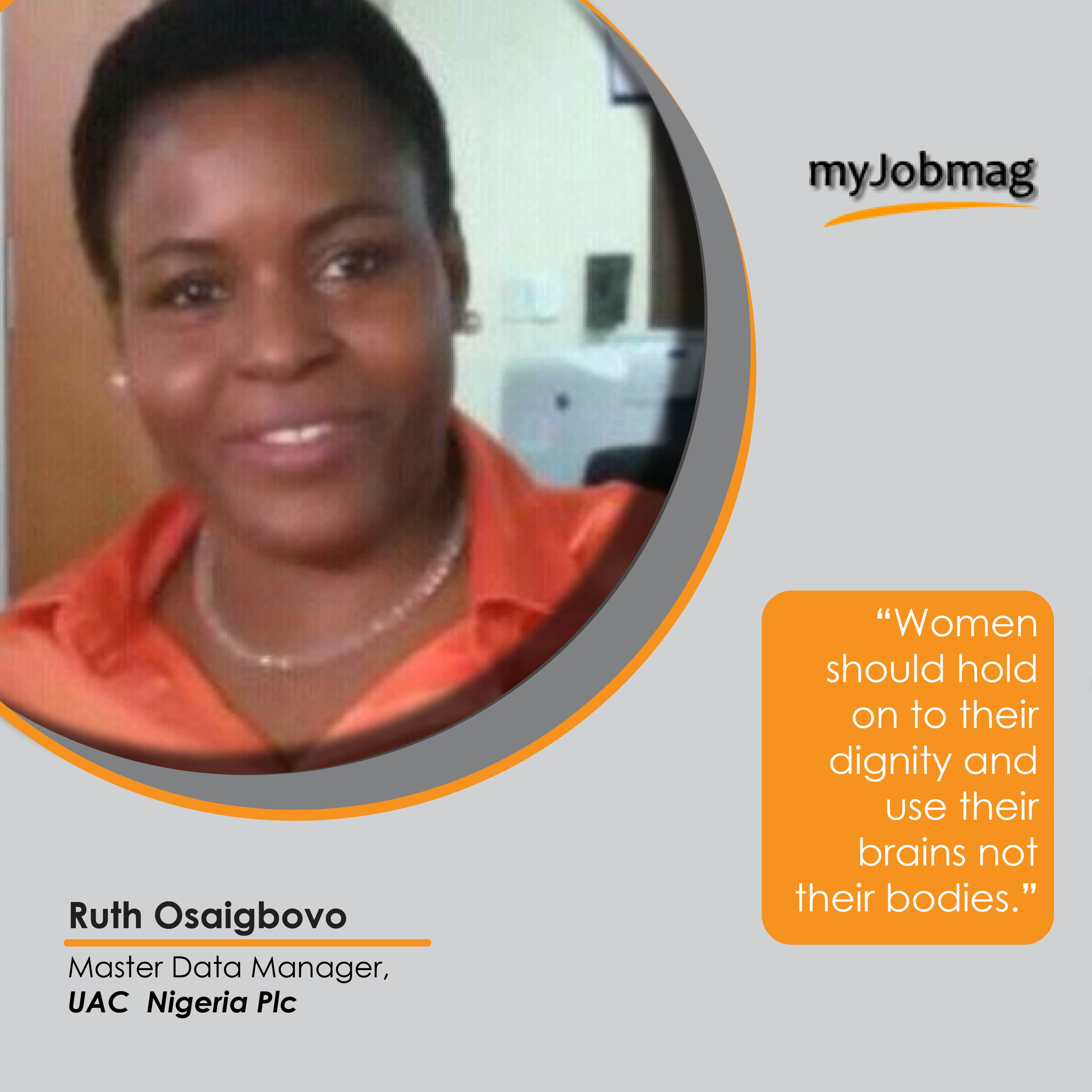 Ruth Osaigbovo career advice MyJobMag