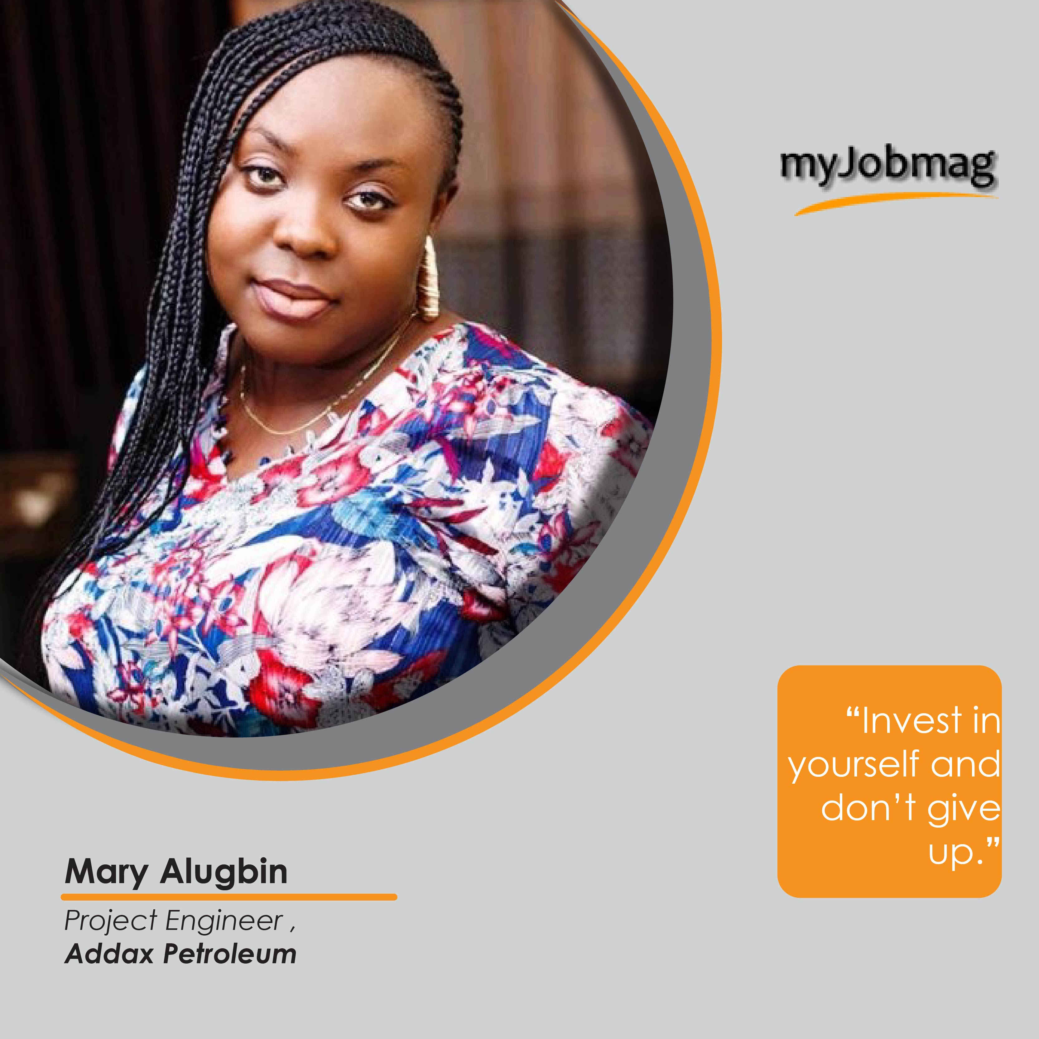 Mary Alugbin career advice MyJobMag