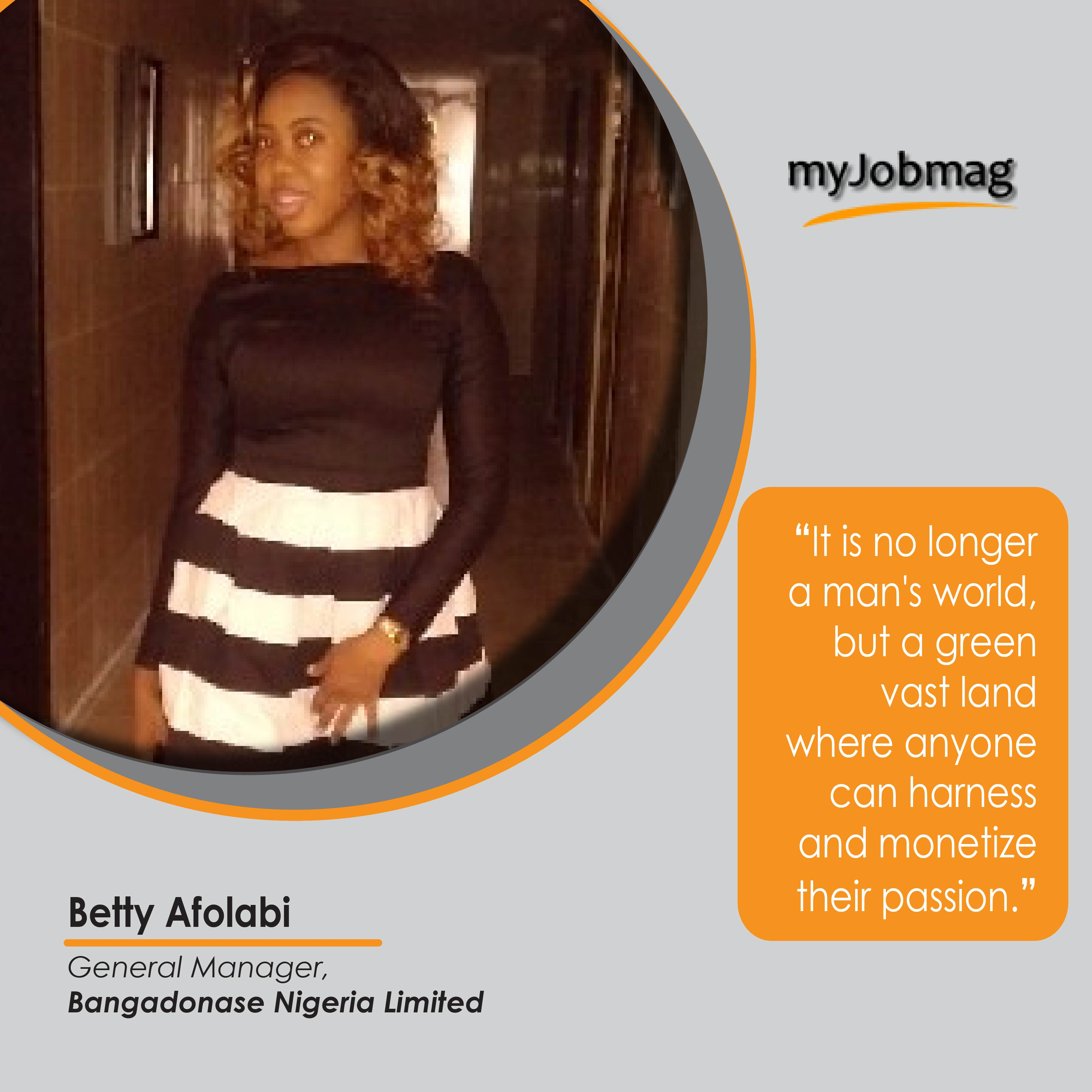 Betty Afolabi career