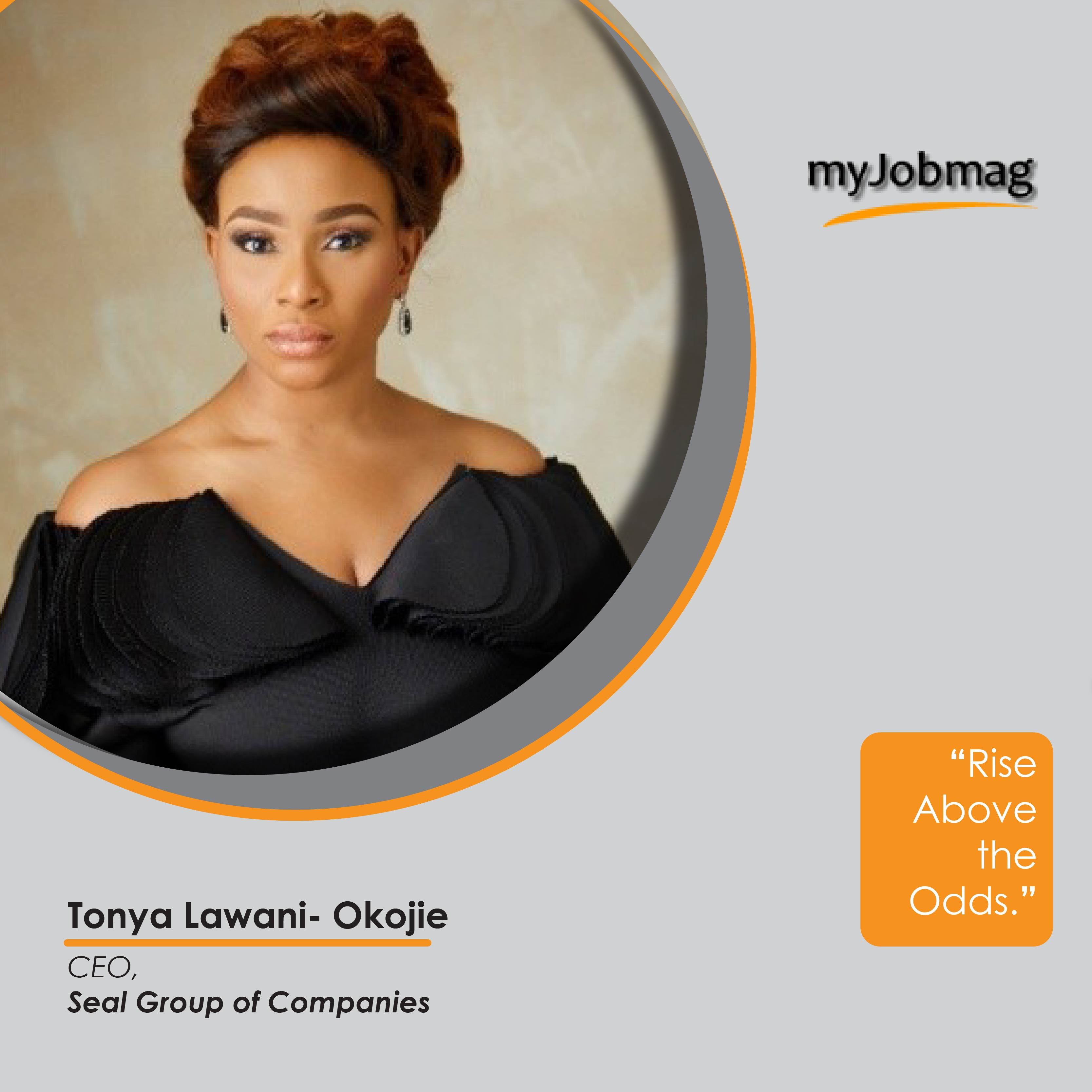 Tonya Lawani career advice MjobMag