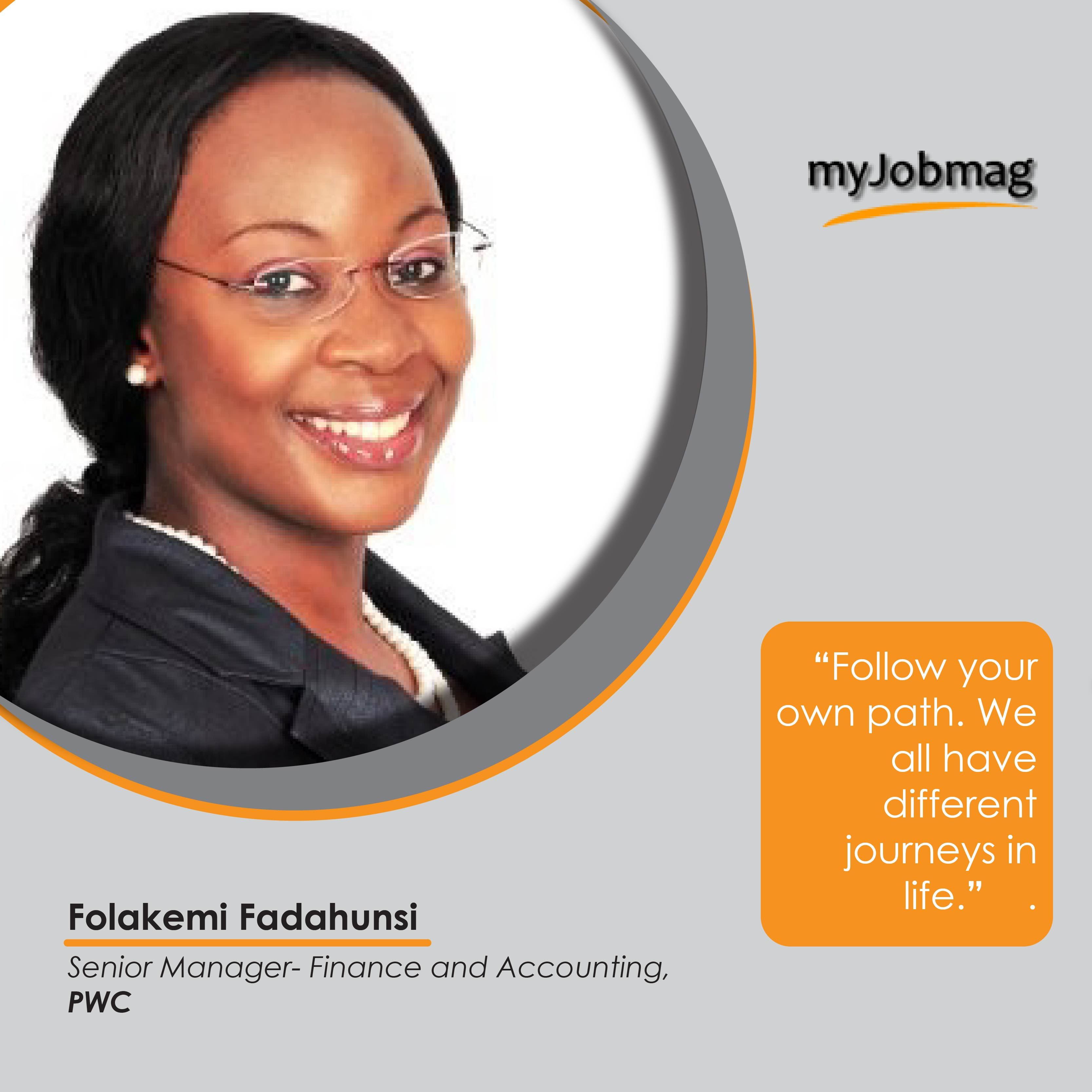 Folakemi Fadahunsi career advice MyJobMag