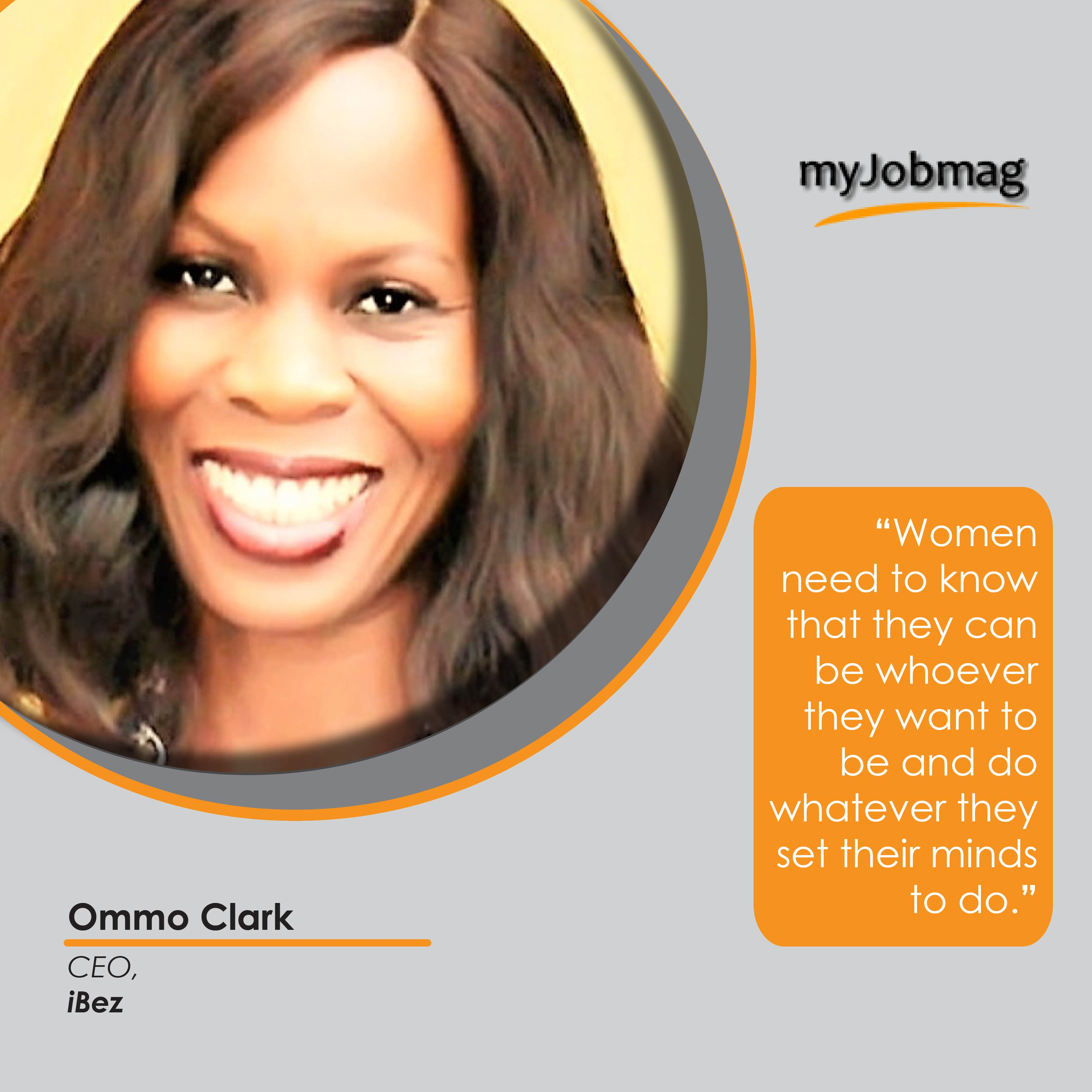 Ommo Clark career advice MyJobMag