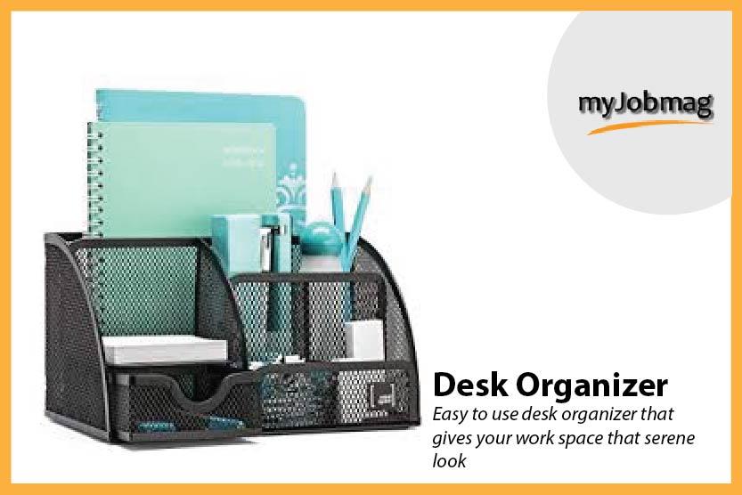 myjobmag desk organizer