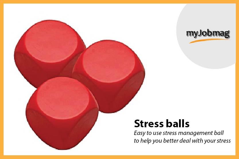 myjobmag stress balls