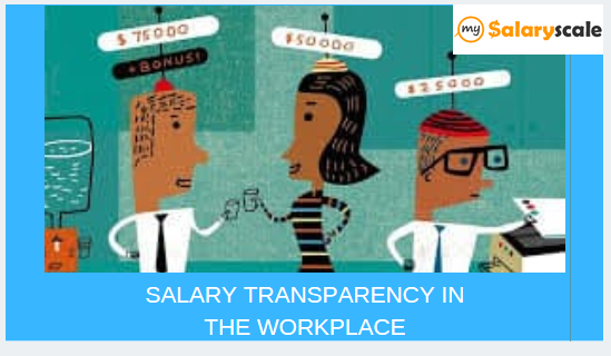 SALARY TRANSPARENCY IN THE WORKPLACE