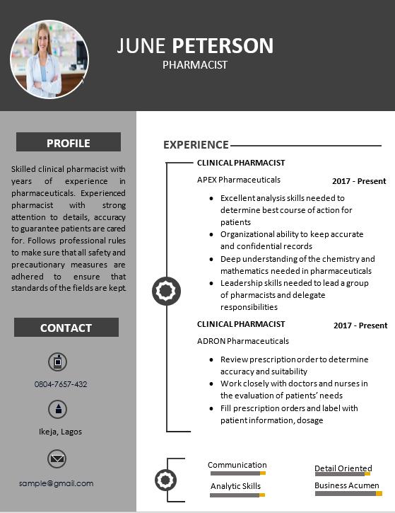 Myjobmag CV templates