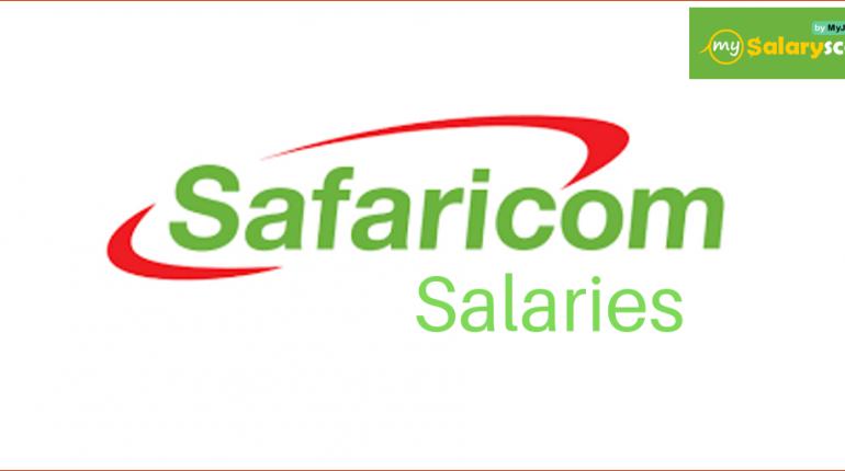 Safaricom salaries in Mysalaryscale