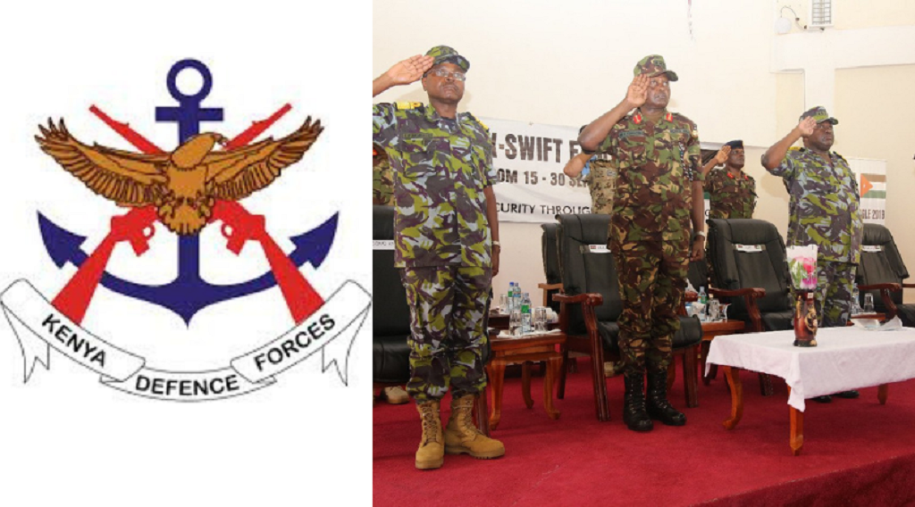 Kenya Defence Forces Salaries and Ranks 2019