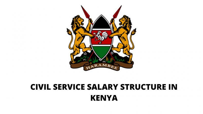 New Civil Servants' Salary Structure in Kenya